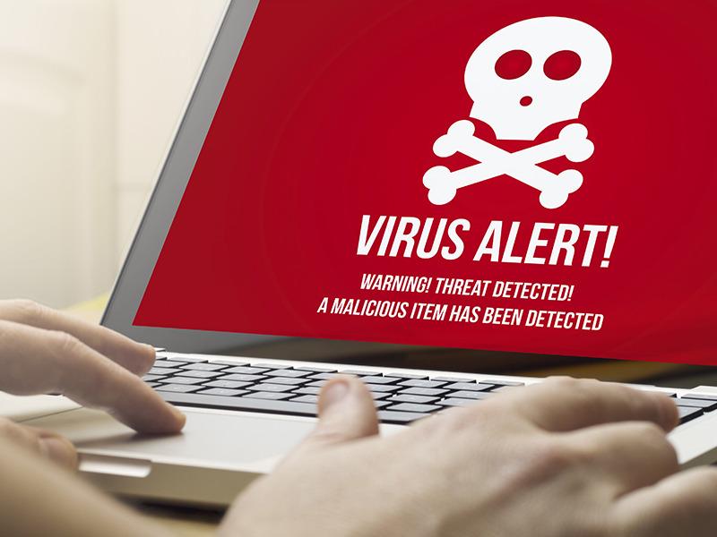 ウイルスに感染する可能性