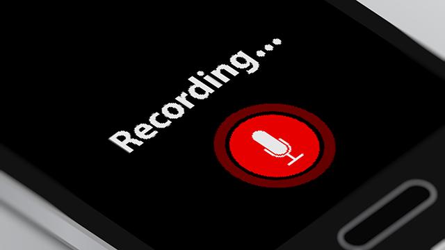 録音時の注意点