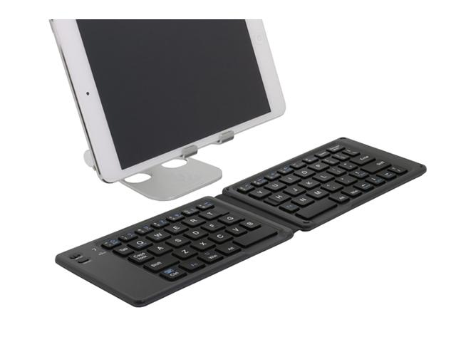 【厚さ7mm】オウルテックが折りたたみ式ワイヤレスキーボードを発売【税込4,380円】