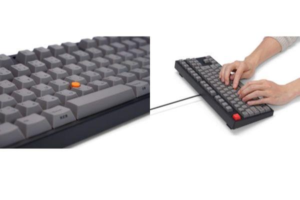 メカニカルテンキーレスキーボード