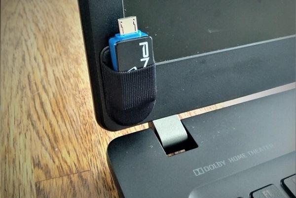 収納ポケット USB