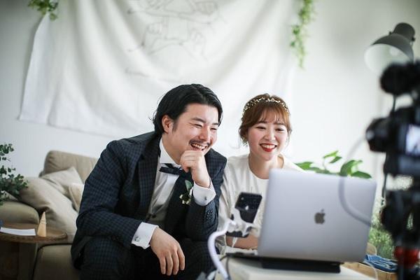 HAKU wedding online Snapchat