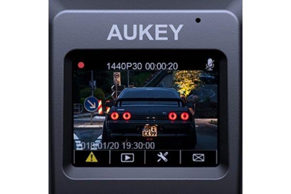 ドライブレコーダー「AUKEY DR02J」進化版