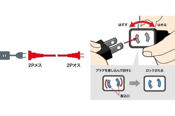 サンワサプライの電源延長コードシリーズ TAP-EX12シリーズ