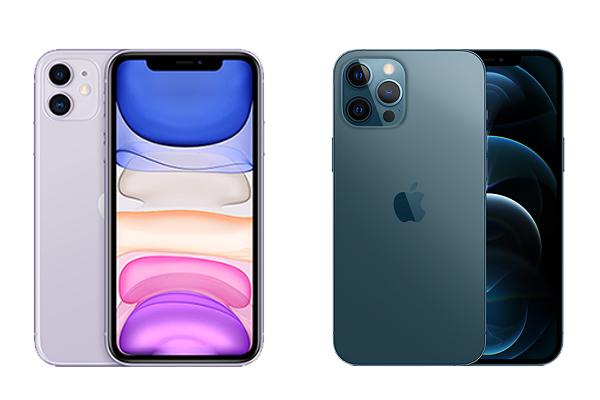 iPhone12とiPhone11のカメラの違い