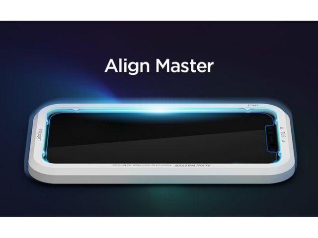 SpigenのiPhone12シリーズ用のガラスフィルム【Align Master】