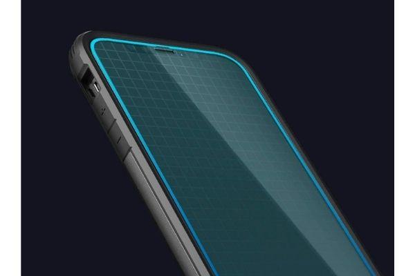 SpigenのiPhone12シリーズ用のガラスフィルム【Align Master】保護フィルム