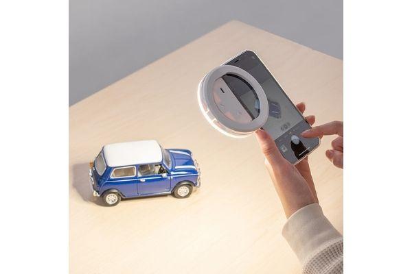 サンワサプライの充電式LEDリングライト「200-DGCAM031」概要