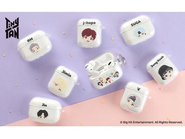 【BTSコラボ】iFaceより、BTSのキャラクター「TinyTAN」のAirPodsケース全18種類が販売開始!