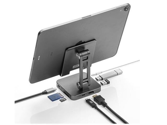 【USB-Cタイプ】タブレットやスマホを簡単にPC化できるドッキングステーションが新発売