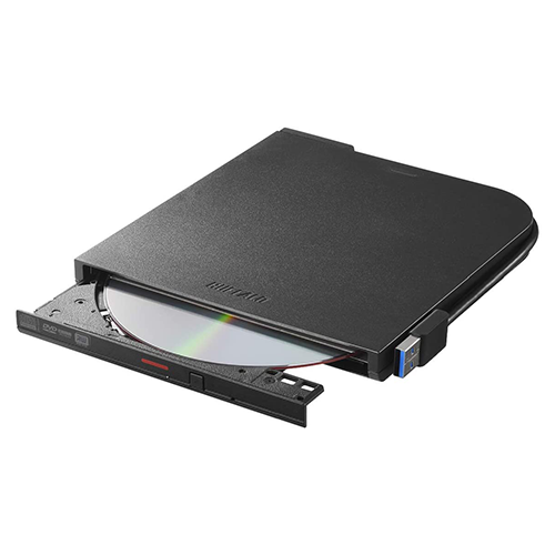 BUFFALO DVD/CDドライブ DVSM-PTV8U3-BK/N