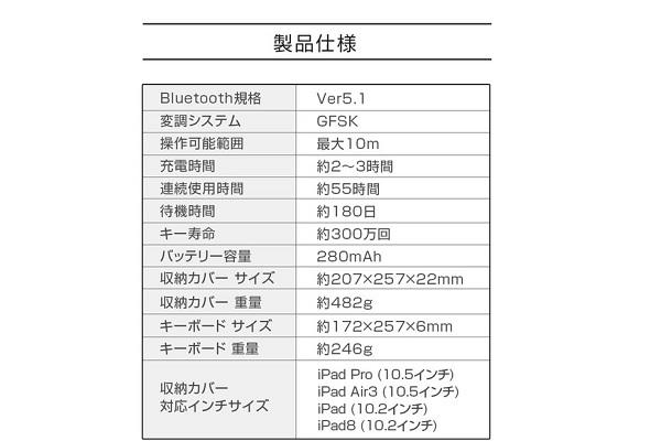 CIO-KBI01仕様