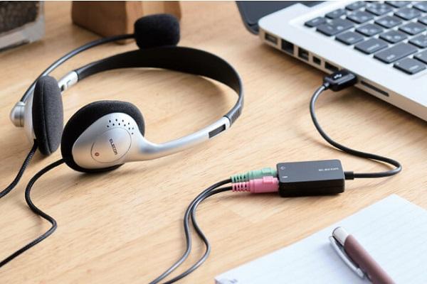 USBAADC0102BK ヘッドフォン