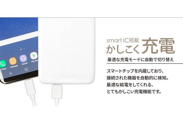 OWLLPB15012WH 賢く充電