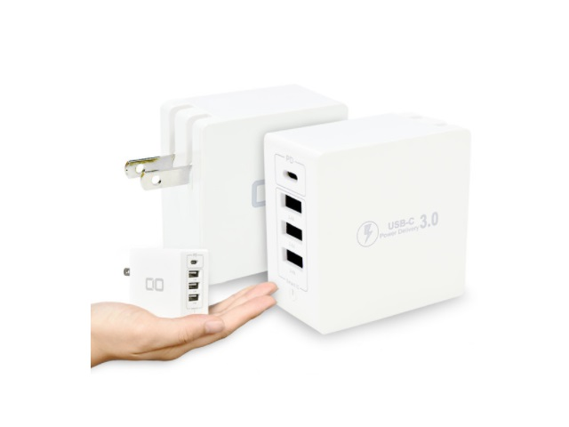 【iPhone12対応】USB4ポート搭載!PD対応急速充電器「CIO-KJ-PD3」が期間限定プライスダウン!