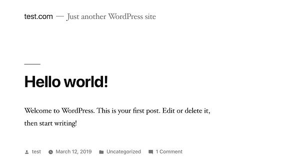 wordpress ローカル