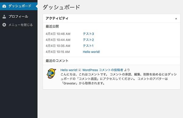 wordpress 権限