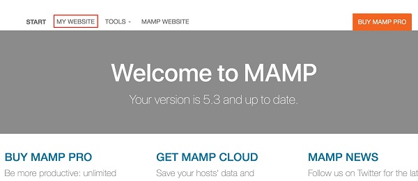 mamp wordpress