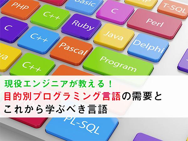 システム開発 言語