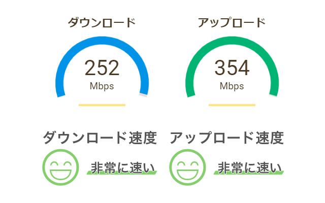 ぴかまろ インターネット速度測定
